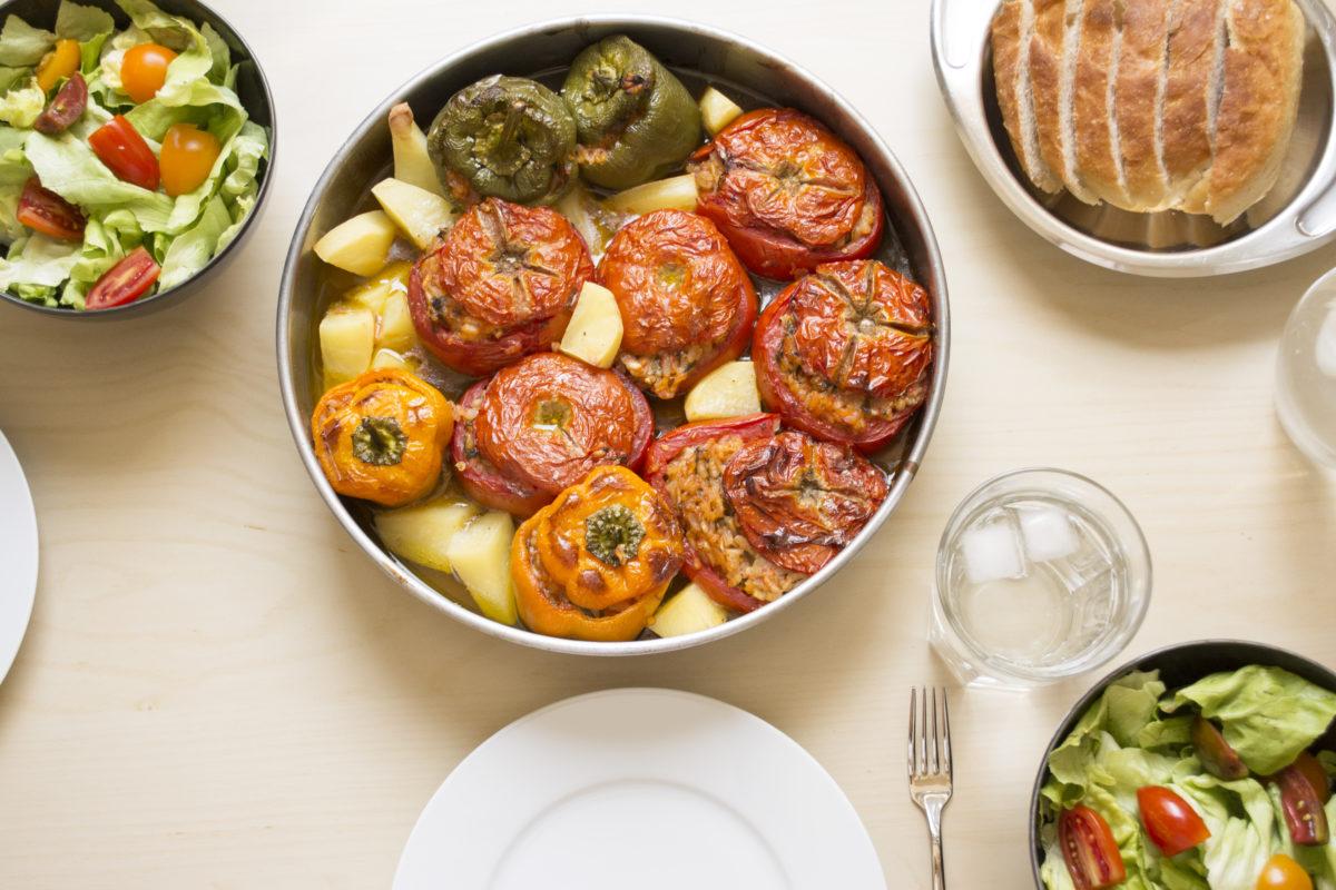 Stuffed vegetables 1