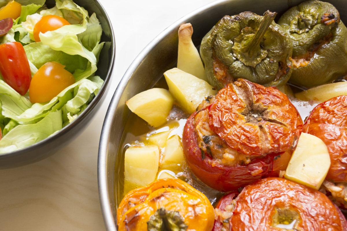Stuffed vegetables 2