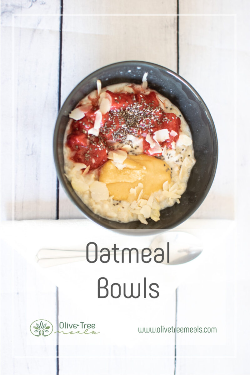 Oatmeal Bowl with Toppings