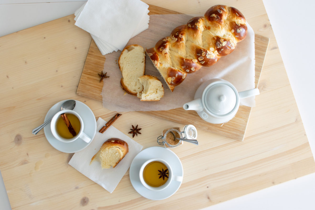 Sweet Bread served with tea