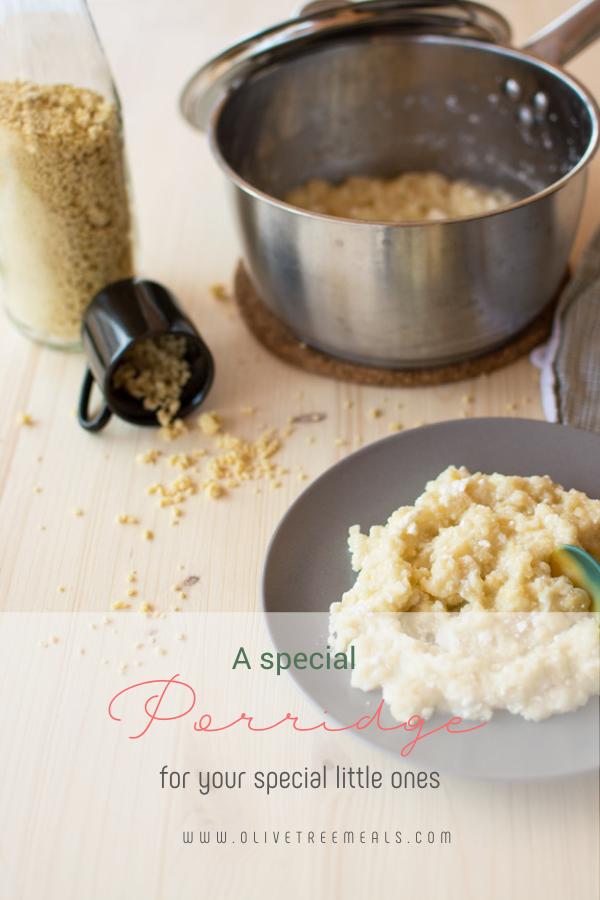plated porridge