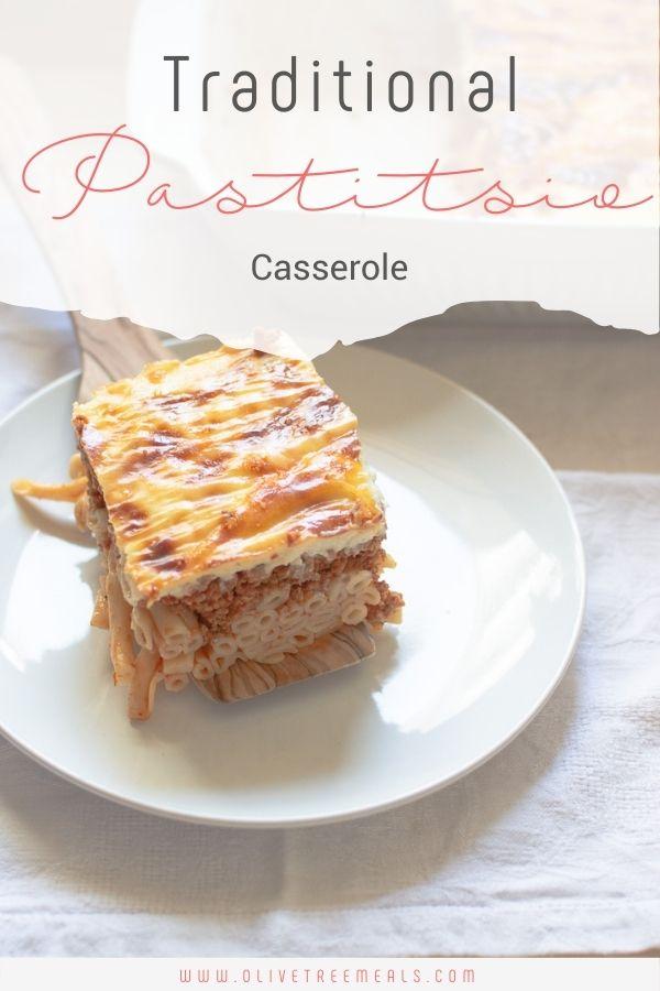 piece of casserole