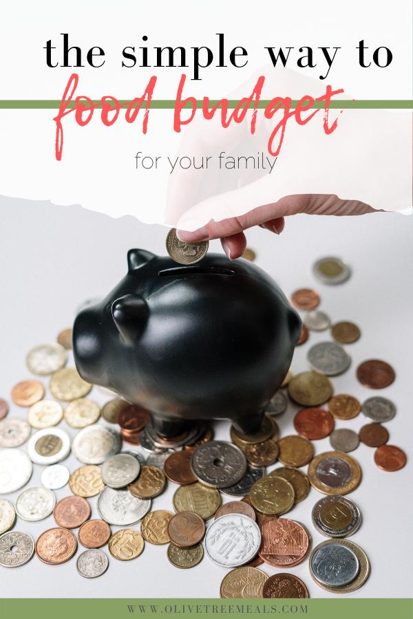 How to make a food budget